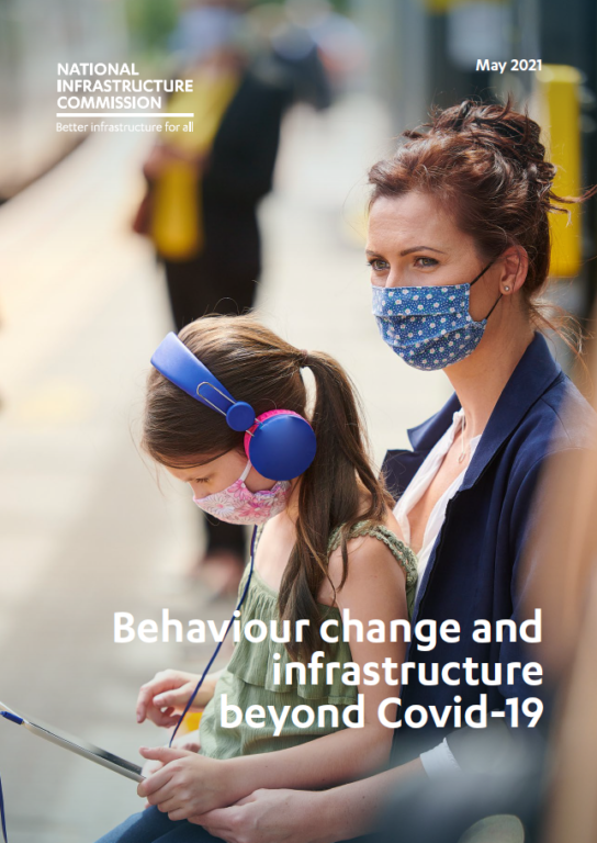 Cover image of the behaviour change report