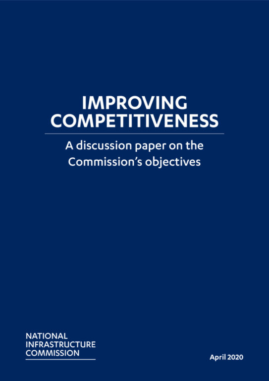 Cover of the Improving Competitiveness report