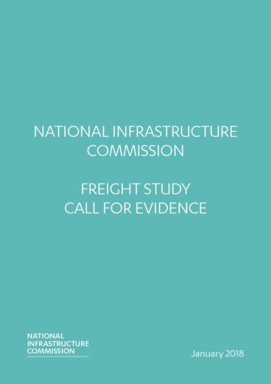 thumbnail of NIC Freight Study Call for Evidence Jan 2018