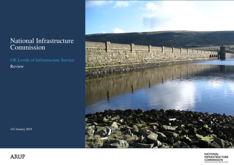 thumbnail of Review of UK levels of infrastructure service