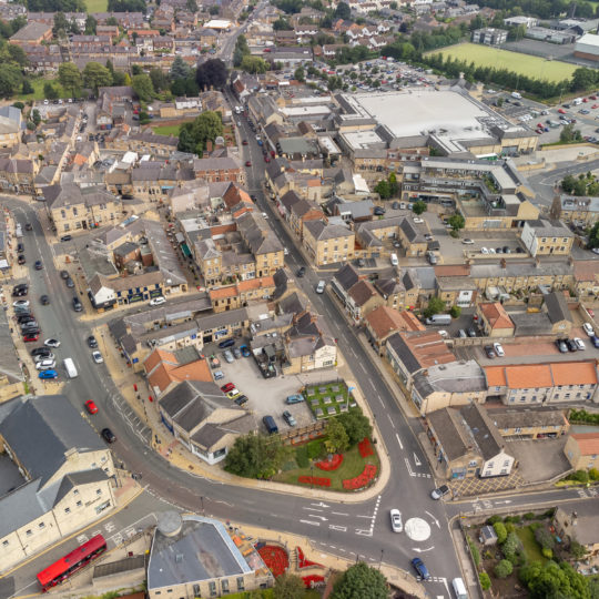 Wetherby from the air